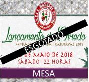 MESAS (51 a 60) - LANÇAMENTO DO ENREDO CARNAVAL 2019