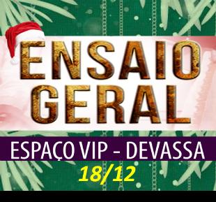 ESPAÇO VIP DEVASSA 18-12-2016