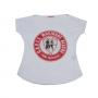 Bata feminina BRILHO com Logo Mocidade Alegre em pedrarias
