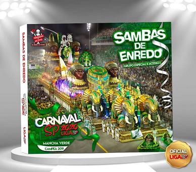 CD SAMBAS ENREDO GRUPO ESPECIAL 2020  - Mocidade Alegre