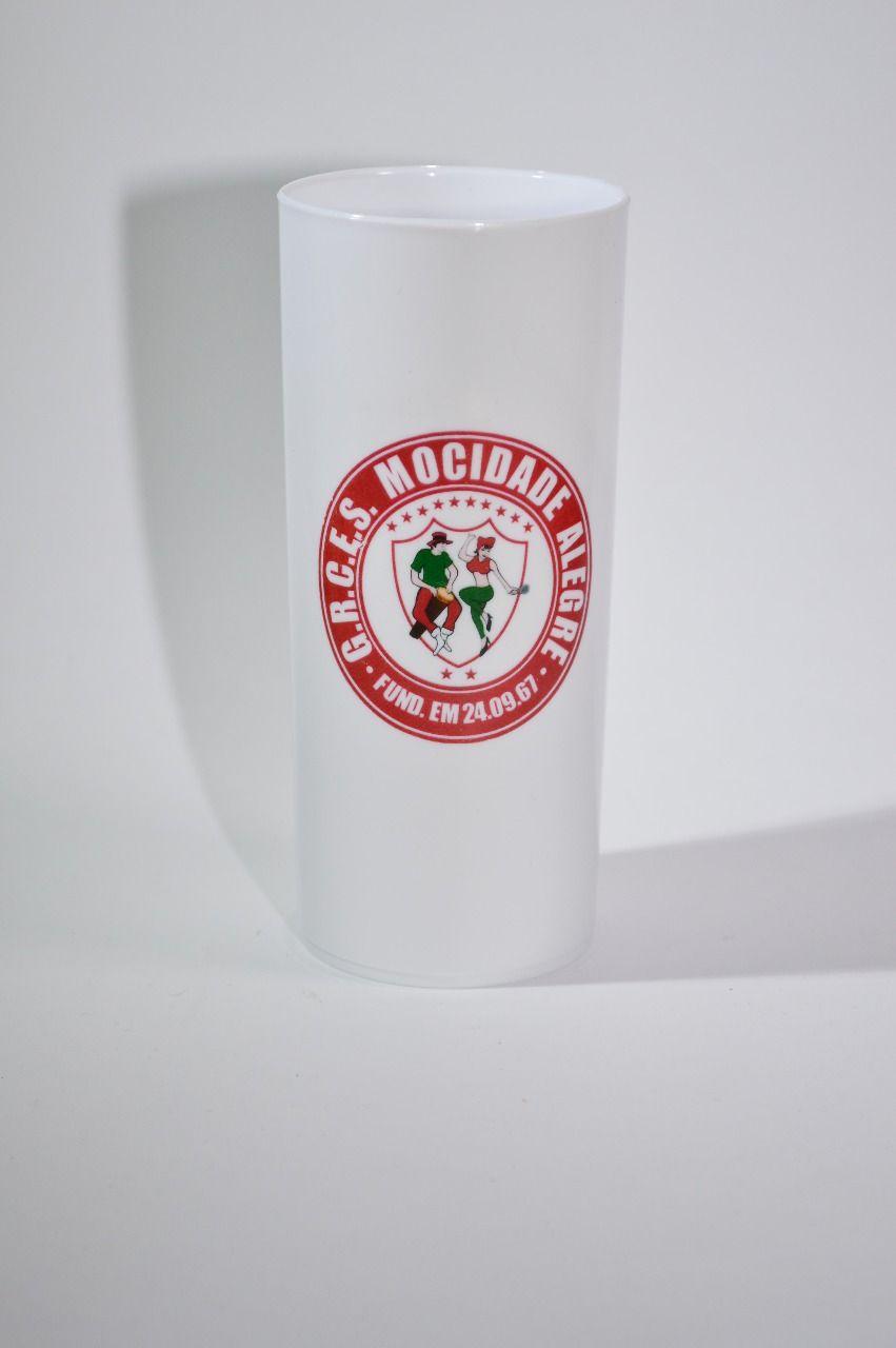 Copo long drink com logo Mocidade Alegre  - Mocidade Alegre