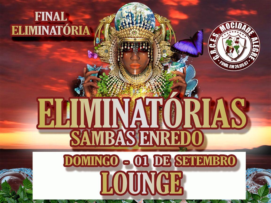 LOUNGE - FINAL DE SAMBA ENREDO- 01-09-2019- CARNAVAL 2020  - Mocidade Alegre