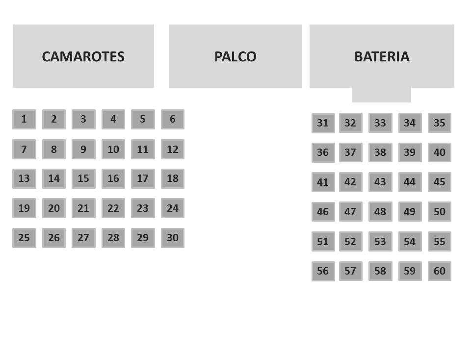 MESAS - 24 HORAS DE SAMBA de 31 a 60 - CARNAVAL 2020 - 28 e 29 de Setembro 2019  - Mocidade Alegre