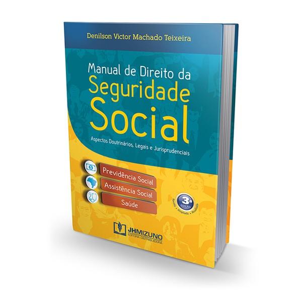 Manual de Direito da Seguridade Social 3ª Edição 2015  - Jurídica On Line
