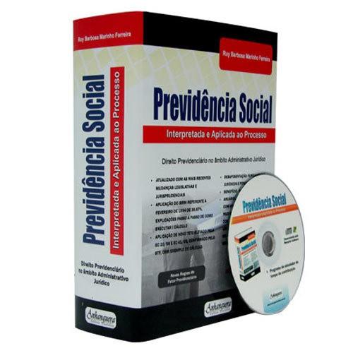 Previdência Social - Interpretada e Aplicada ao Processo 2ª Edição  - Jurídica On Line
