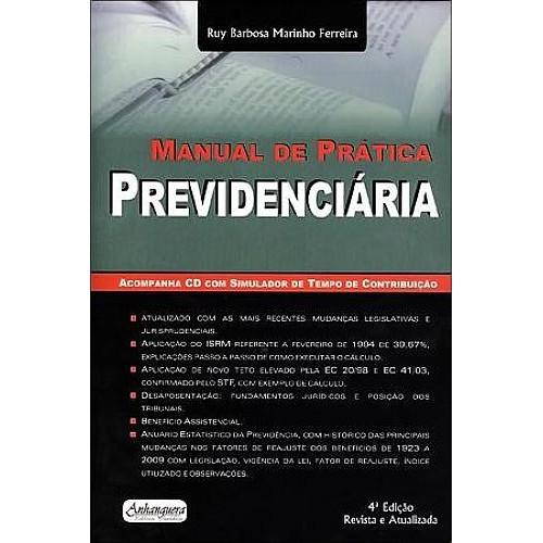 Manual da Prática Previdenciária 4ª Edição  - Jurídica On Line