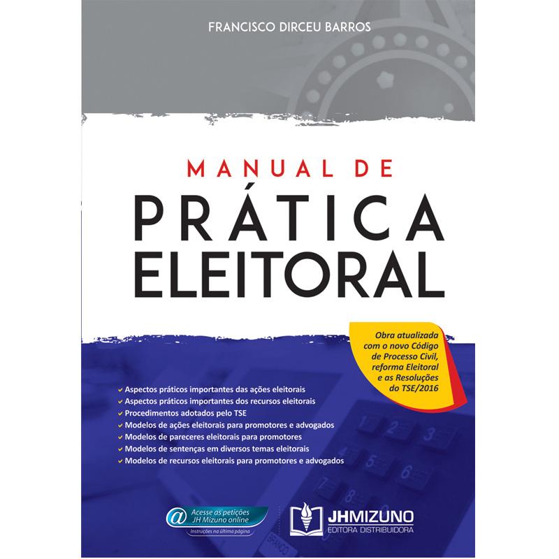 Manual de Prática Eleitoral  - Jurídica On Line