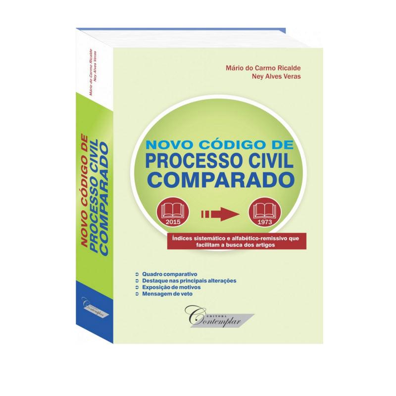 Novo Código de Processo Civil Comparado  - Jurídica On Line