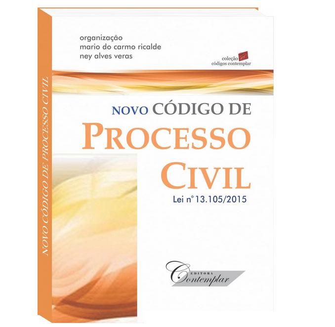 Novo Código de Processo Civil - Mini - Coleção Códigos  - Jurídica On Line