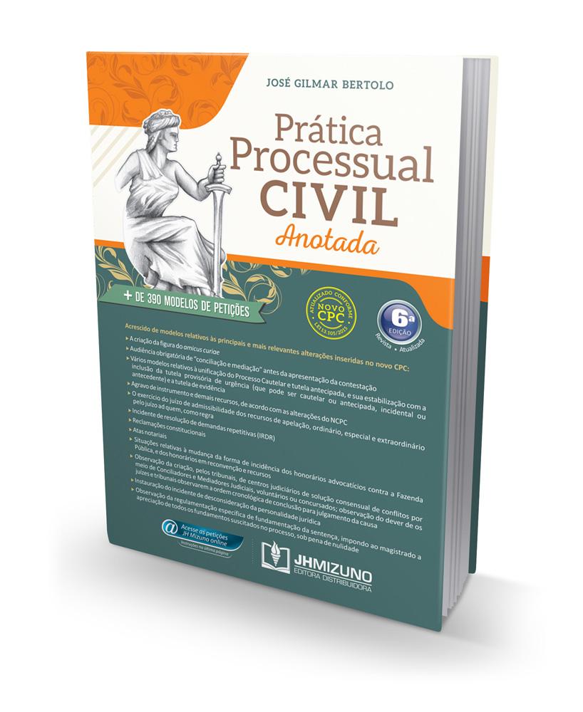 Prática Processual Civil Anotada 6 edição 2015  - Jurídica On Line