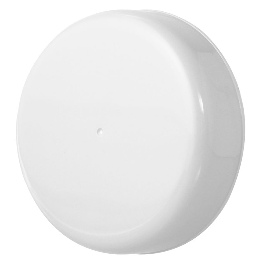 10 Tampa Plástica Branca para Vidro de Palmito de 3 Litros para Pote com Boca de 110mm