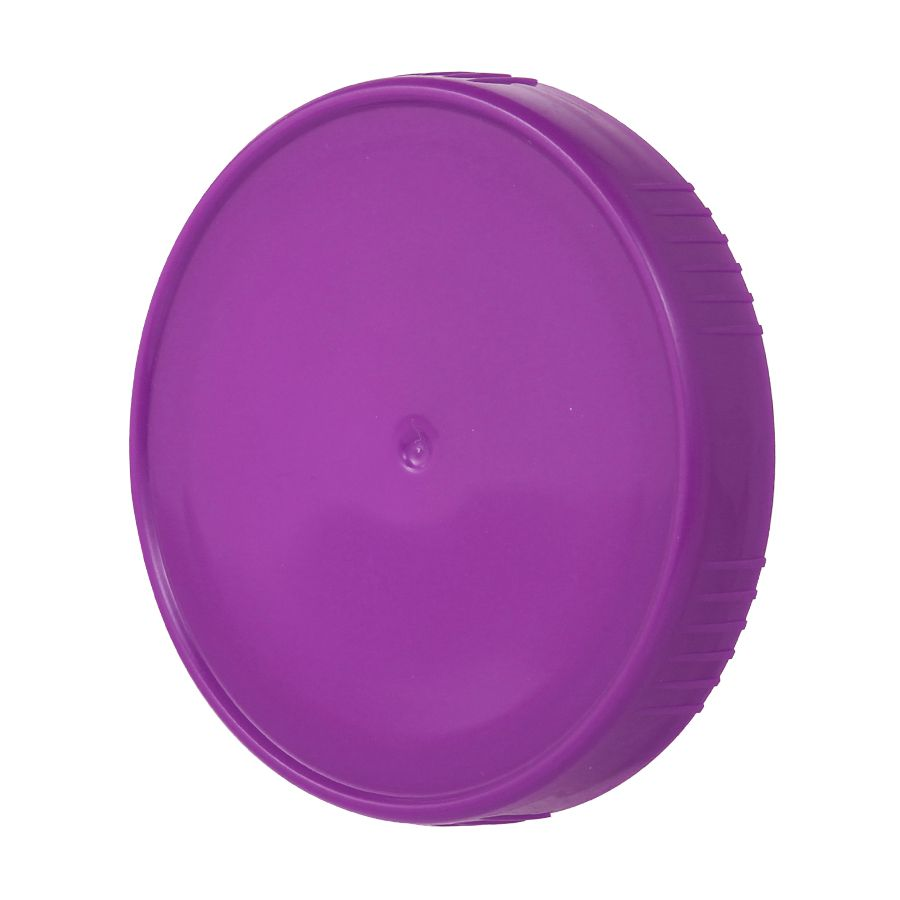 10 Tampa Plastica Roxa para Vidro Pote Palmito 74mm 500ml