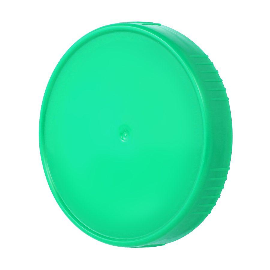 10 Tampa Plastica Tiffany para Vidro Pote Palmito 74mm 500ml