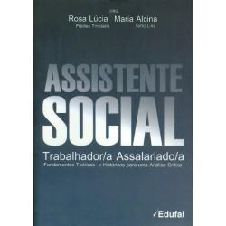 Assistente Social Trabalhador/a Assalariado/a  - Editora Papel Social