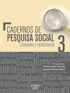 Cadernos de pesquisa social volume 3  - Editora Papel Social