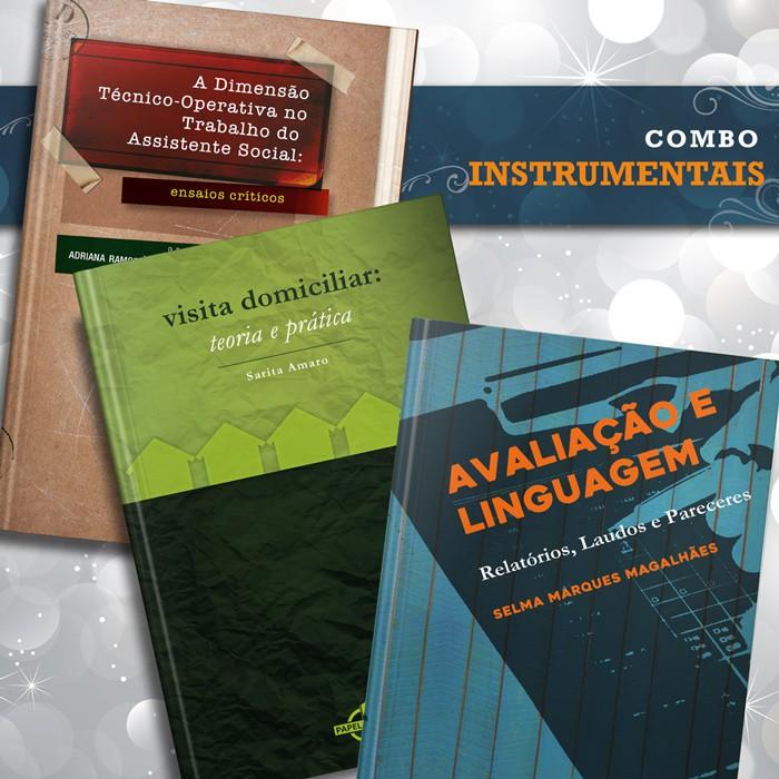 Combo Instrumentais  - Editora Papel Social