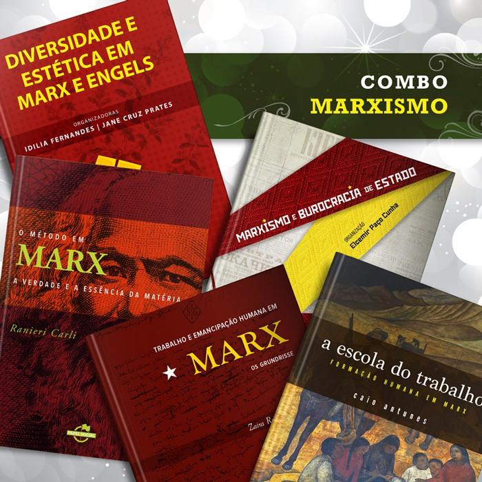 Combo Marxismo  - Editora Papel Social