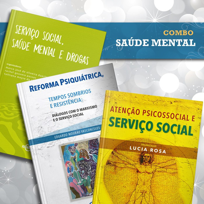 Combo Saúde Mental  - Editora Papel Social
