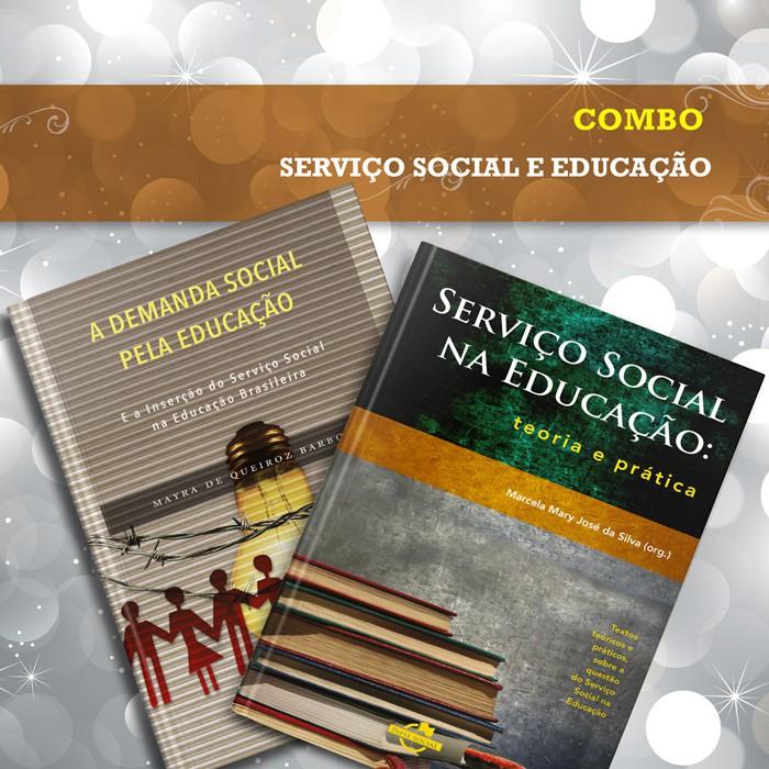 Combo Serviço Social e Educação  - Editora Papel Social