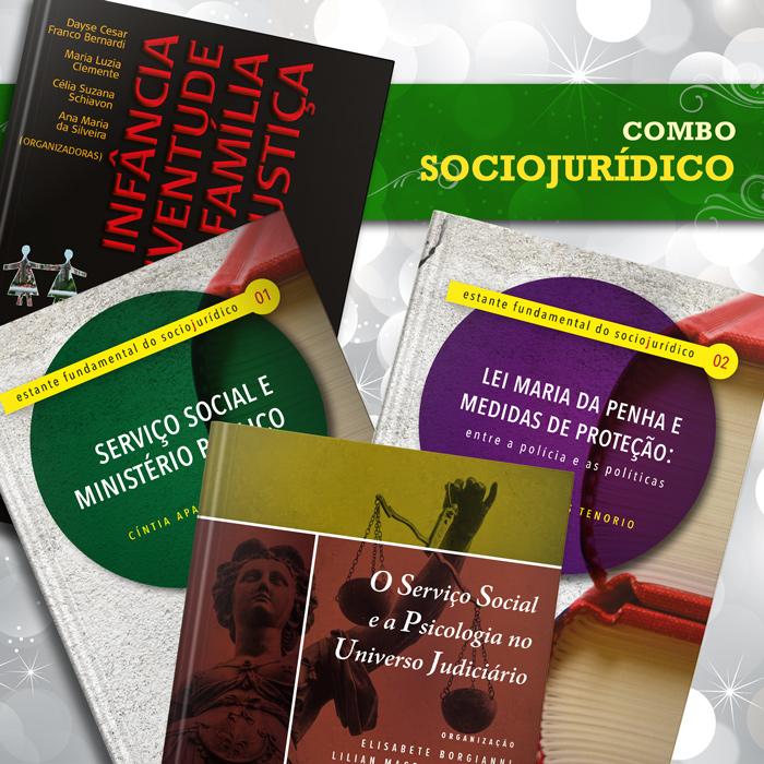 Combo Sociojurídico  - Editora Papel Social