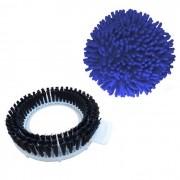 Kit Refil Limpeza Pesada e Limpeza A Seco Para Spin Mop 360 - Perfect