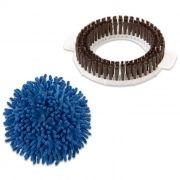 Kit Refil Para Perfect Mop 360 Escovão Limpeza Pesada e Esfregão a Seco