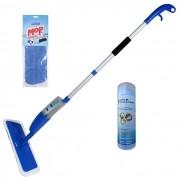 Mop Spray Com 1 Refil Extra + Super Toalha PVA Multiuso