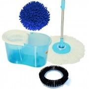 Perfect Spin Mop 360 Urban 3 Refis, Limpeza a Pó e Escovão e Microfibra