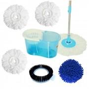 Perfect Mop 360 Urban 6 Refis, Limpeza de Pó, Escovão, e Microfibra