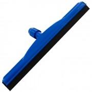 Rodo Plástico Sem Cabo Borracha Dupla  EPDM - Azul