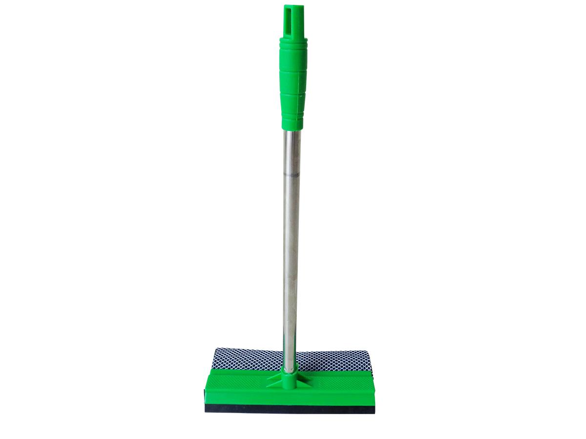 #00B740 Rodo Para Limpeza de Vidros e Janelas Dupla Faces Combinado Com Cabo  816 Limpeza De Vidros E Janelas