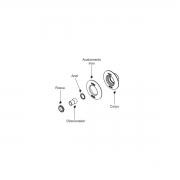 Dispositivo Retorno Pratic 50mm Inox Alvenaria Sodramar