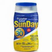 PROTETOR SOLAR FPS30 SUNDAY 120ml