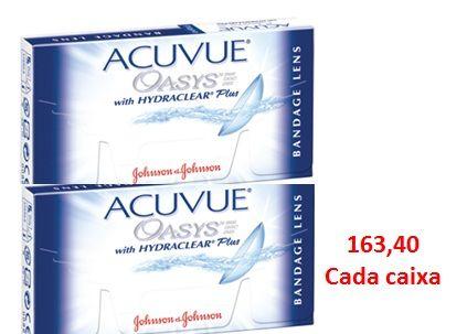 169dc943d4996 Combo 2 caixas Lentes de Contato Terapêuticas Acuvue Oasys Bandage - Lentes  de Contato Expert