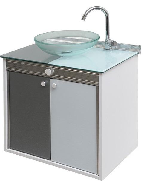 Gabinetes de Banheiro -> Gabinete De Banheiro Acrílico