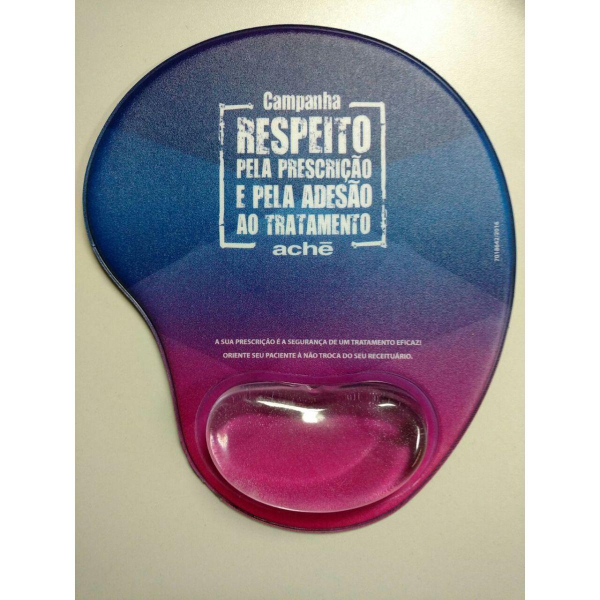 MOUP001 - Mouse Pad Ergonômico   - k3brindes.com.br