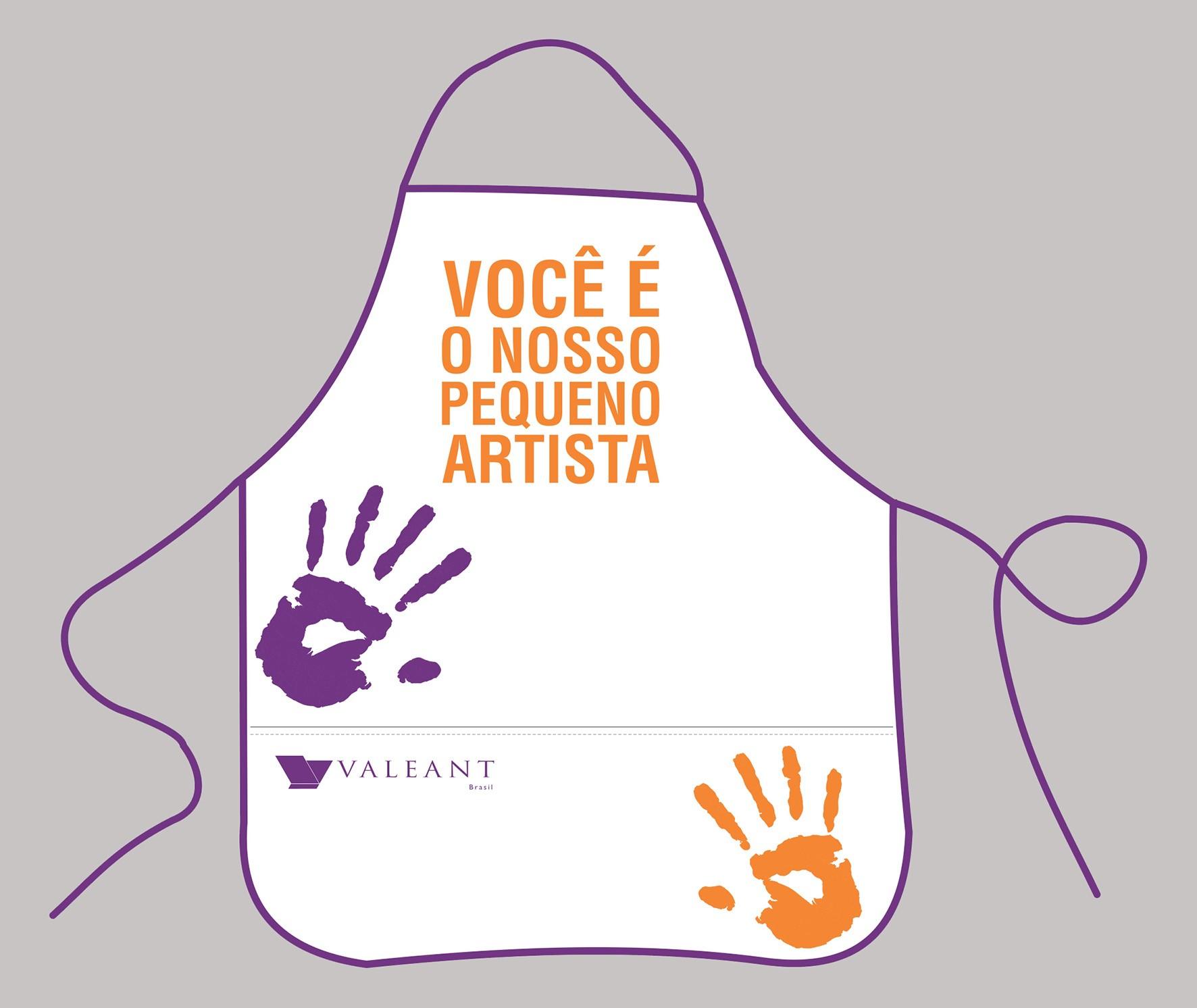 AVE001 - Avental Infantil  - k3brindes.com.br