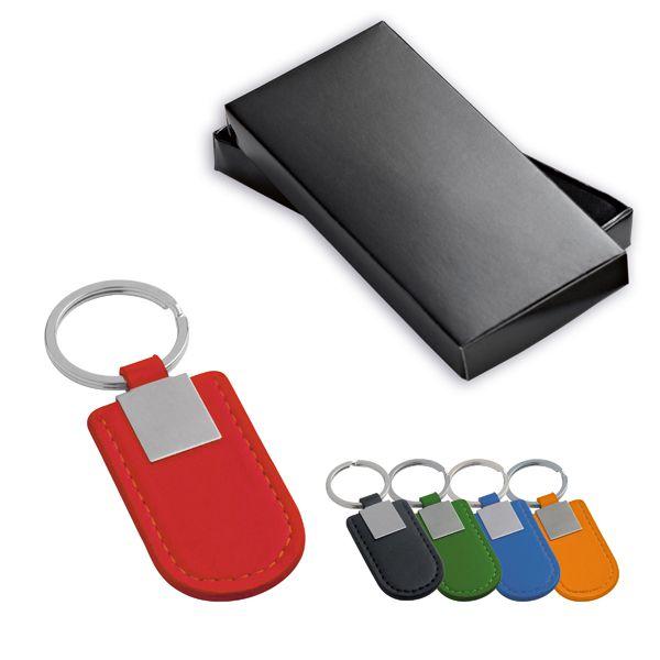 CHAV003 - Chaveiro Metal e Sintético Color  - k3brindes.com.br