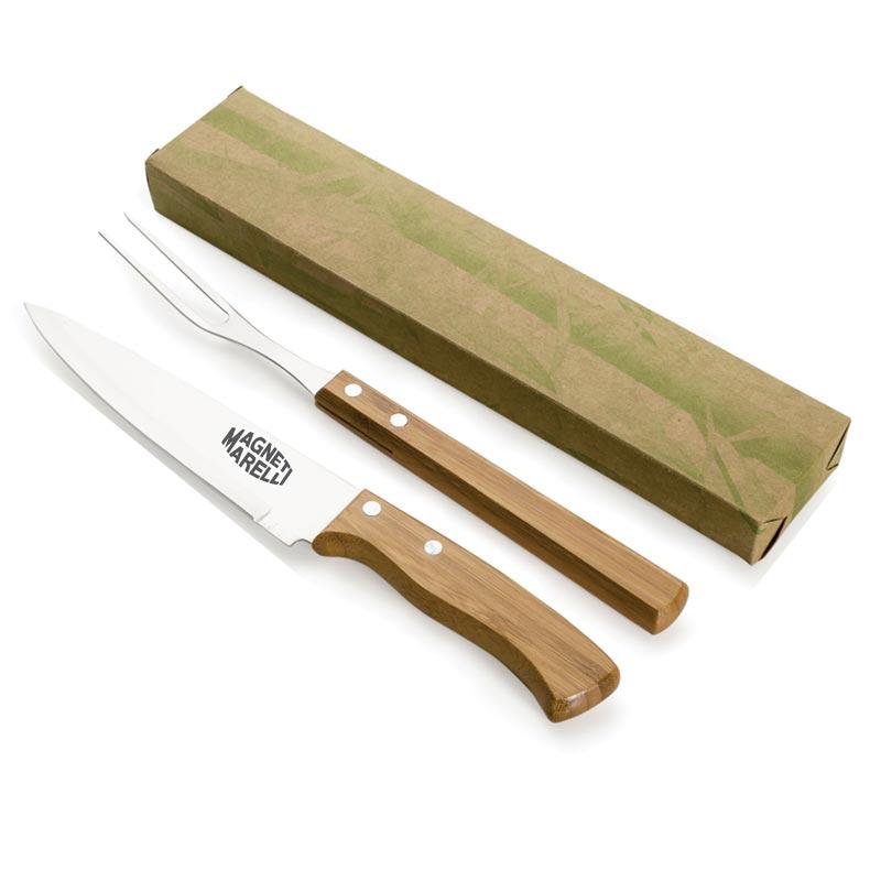 CHU010 - Kit churrasco 2 peças