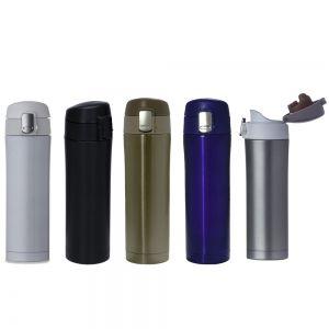 SQZ002 - Squeeze Alumínio Metálico  - k3brindes.com.br
