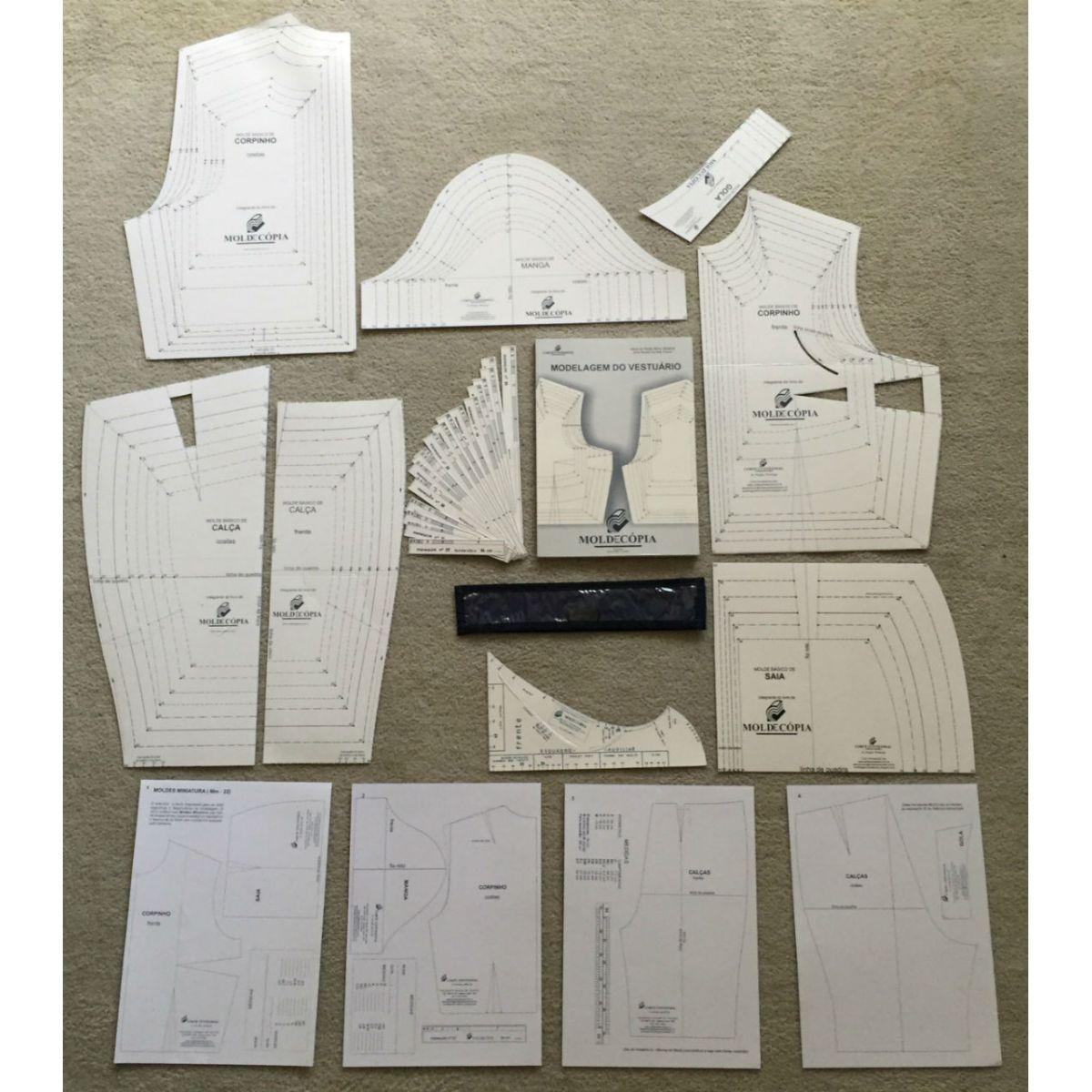 Sistema Moldecópia 7 kits  - Corte Centesimal