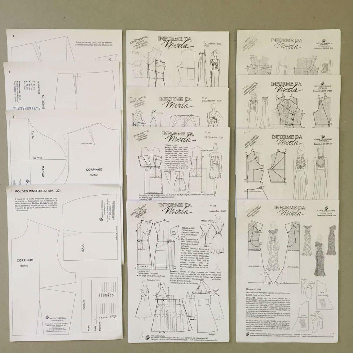 Informe da Moda (190 ao 231)  - Corte Centesimal