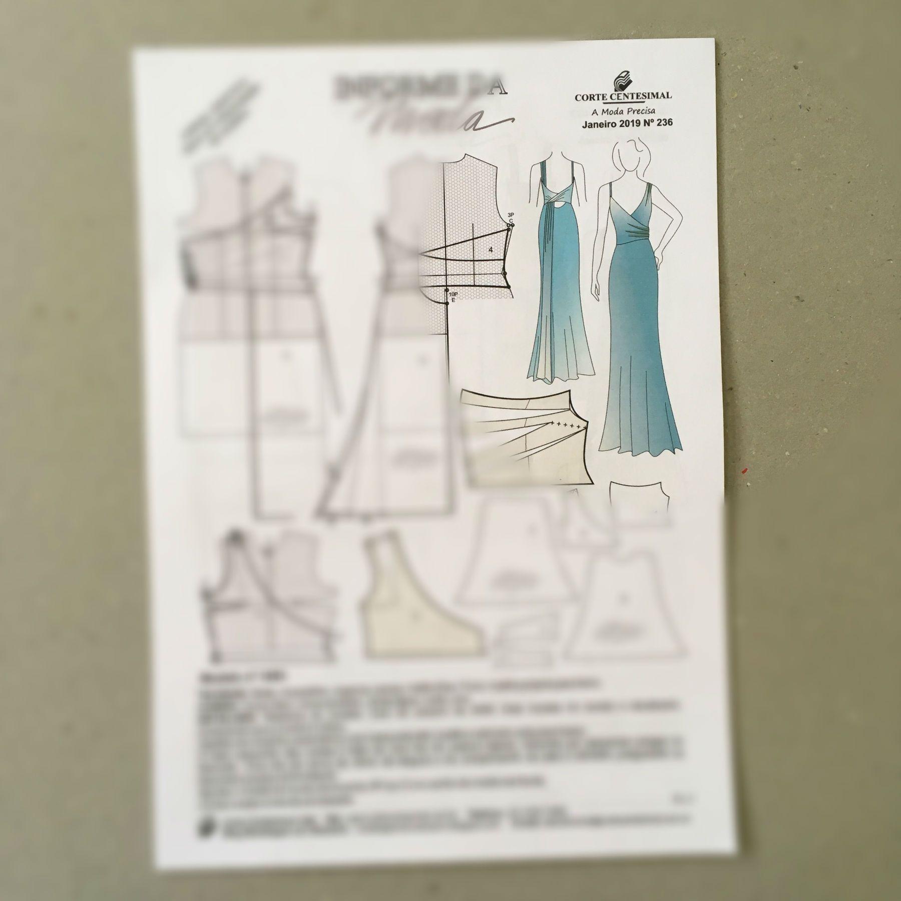 Informe da Moda 236 Janeiro de 2019  - Corte Centesimal