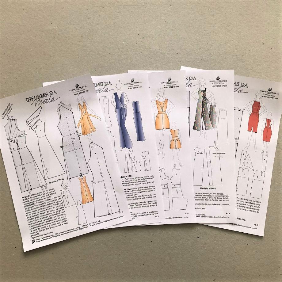 Informe da Moda 239  - Corte Centesimal