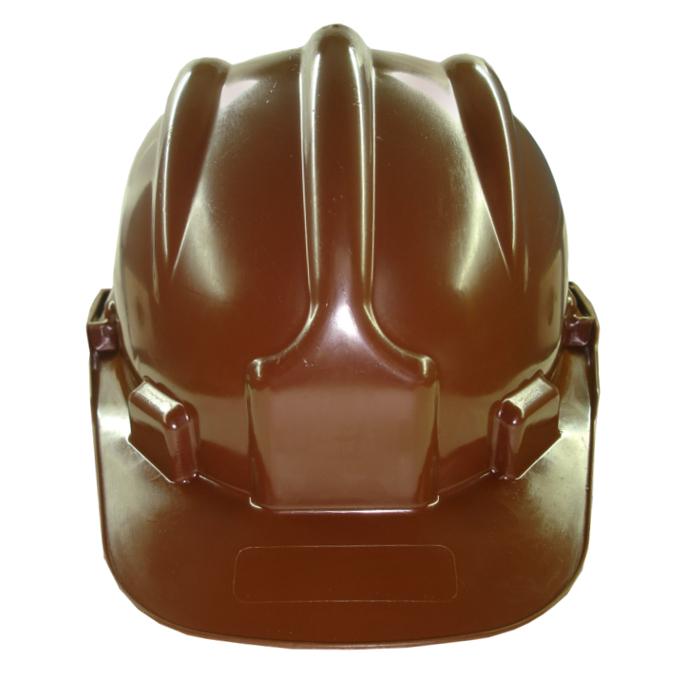 Capacete de Segurança Completo com Jugular - Plastcor - CA 31469 MARROM