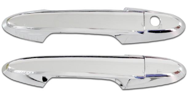 Aplique da maçaneta cromado Honda FIT 2015 acima