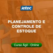 Curso Ágil - Planejamento e Controle de Estoque