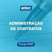 Curso EAD - Administração de Contratos