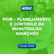 Curso EAD - Planejamento e Controle da Manutenção - Avançado