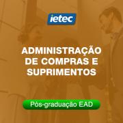Pós-graduação EAD - Administração de Compras e Suprimentos EAD
